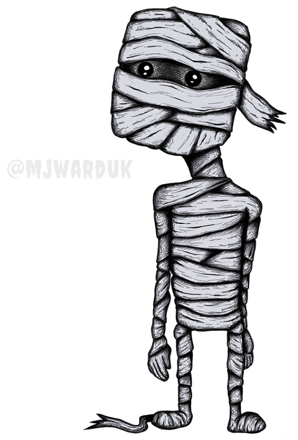 Mummy in my bedroom halloween story
