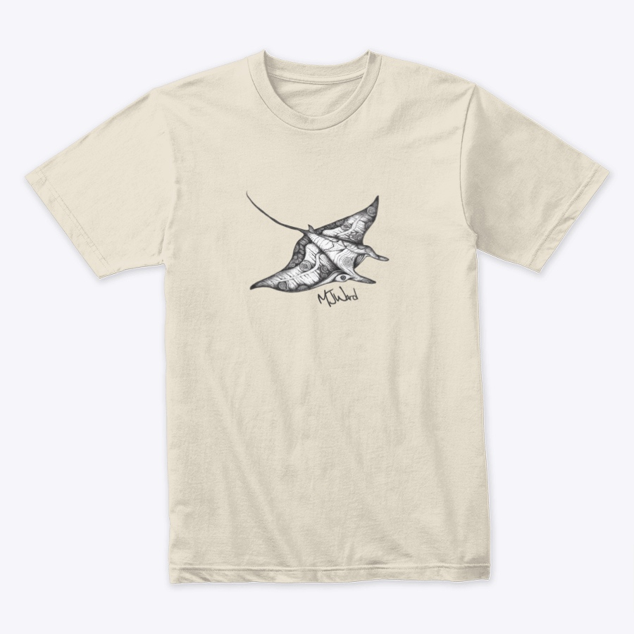 Manta Ray Tribal T-shirt