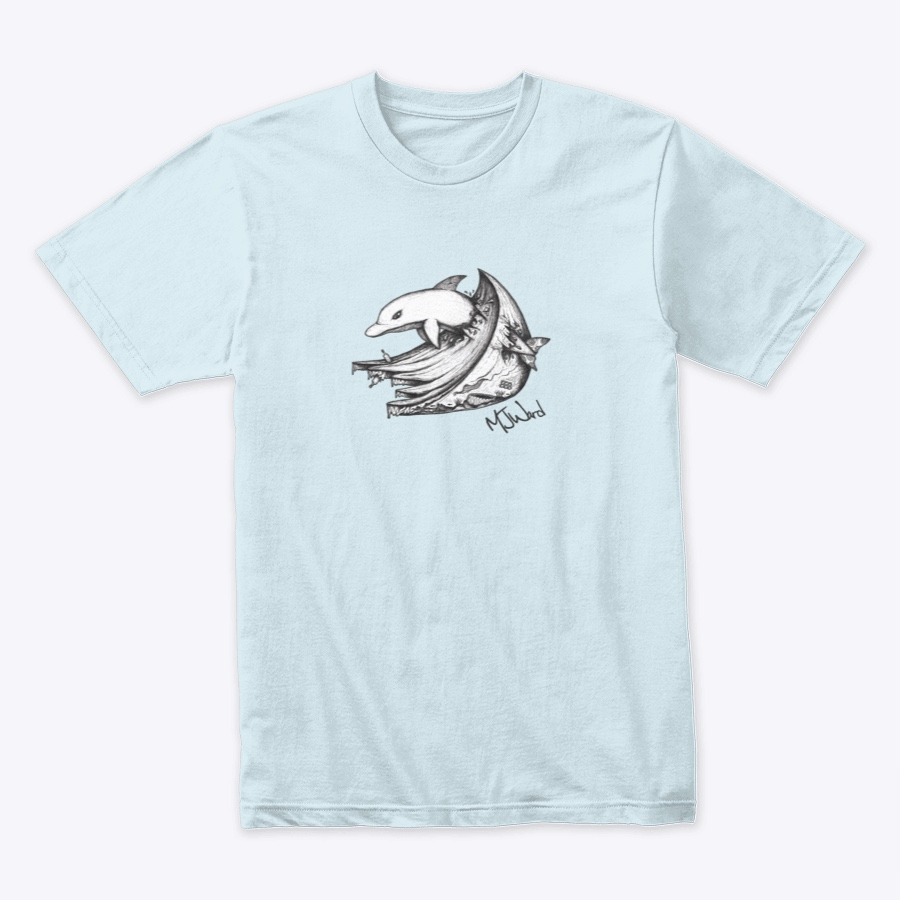 Disappointed Dolphin T-shirt